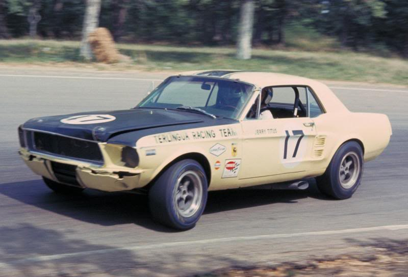 Terlingua Racing Team 1967 Champions In Scca Trans Am