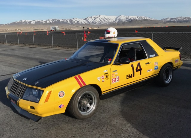"Chronicles of the ""FLYING TURD"": 1981 SCCA Ford Mustang GT3"