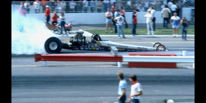 "NHRA RACING:""Dragster Mania"" in the Eighties"