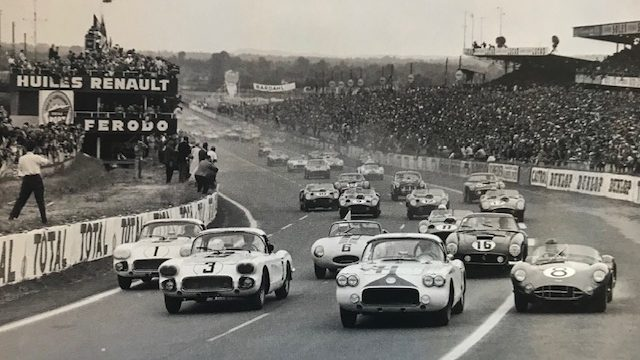 RARE CLASSIC CORVETTES OF THE 50's & '60's: Cunningham Le Mans Race #1 Custom Corvette and Scaglietti Corvette