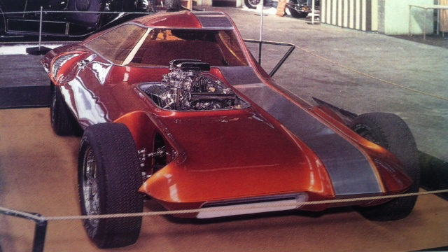 ILLUSION 1966: Asymmetrical Muscle 55Yrs Ago at Oakland Roadster Show