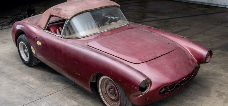 CUNNINGHAM CORVETTE #1: Custom Corvette goes to Sotheby's Auction at Amelia Island